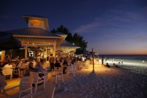 A popular beachfront restaurant in Anna Maria Island