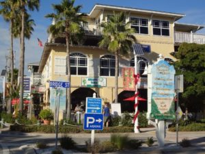 Bridge Street shopping in Bradenton Beach, FL